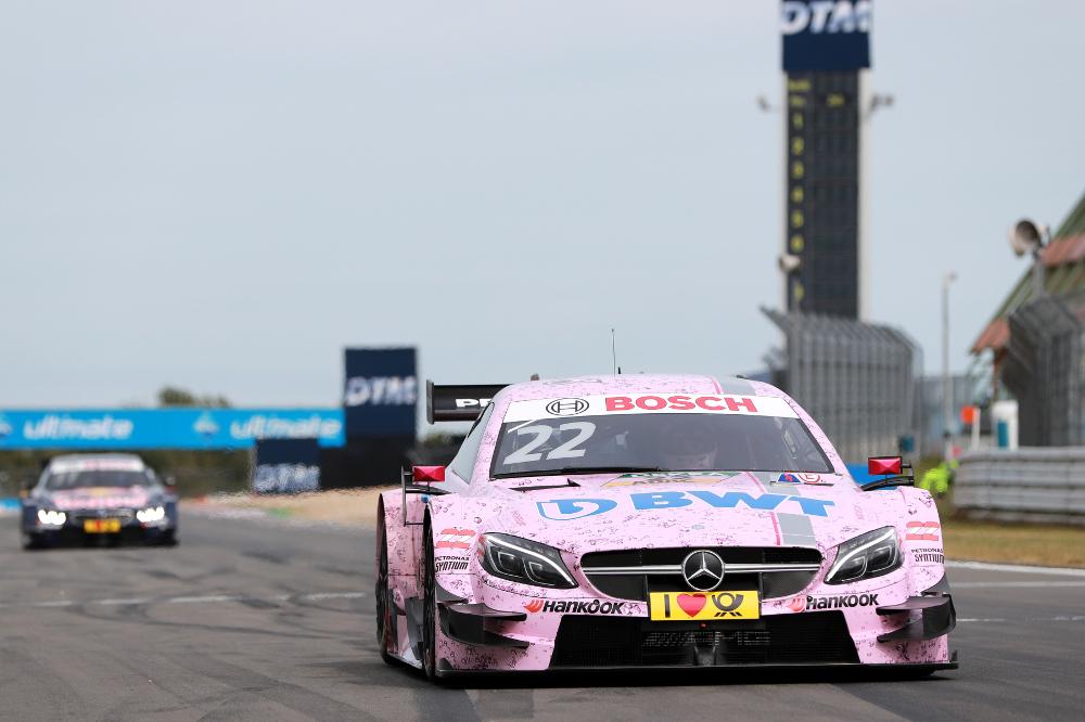 Motorsports: DTM race Nürburgring 2016, #22 Lucas Auer (AUT, Mercedes-AMG DTM Team Mücke, Mercedes-AMG C 63 DTM)