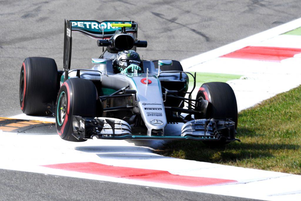 Formel 1 - MERCEDES AMG PETRONAS, Großer Preis von Italien 2016. Nico Rosberg ; Formula One - MERCEDES AMG PETRONAS, Italian GP 2016. Nico Rosberg;