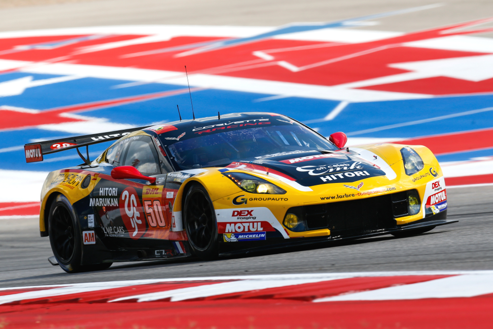 50 YAMAGISHI Yutaka (jpn) TAYLOR Ricky (usa) RAGUES Pierre (fra) Chevrolet Corvette C7 Z06 team Larbre Competition action during the 2016 FIA WEC World Endurance Championship, 6 Hours of Circuit des Ameriques from September 15 to 17  2016 at Austin, USA circuit - Photo DPPI
