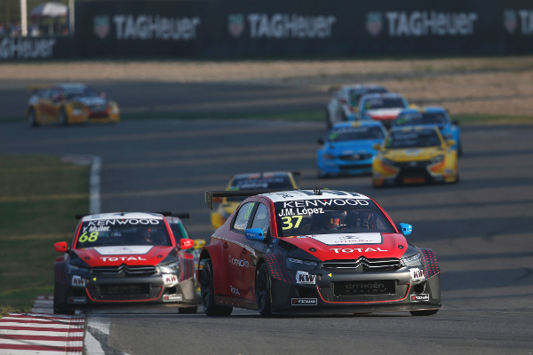 37 LOPEZ Jose Maria (arg) Citroen C Elysee team Citroen TOTAL WTCC action during the 2016 FIA WTCC World Touring Car Championship at Shanghai, China, September 23 to 25 - Photo Jean Michel Le Meur / DPPI