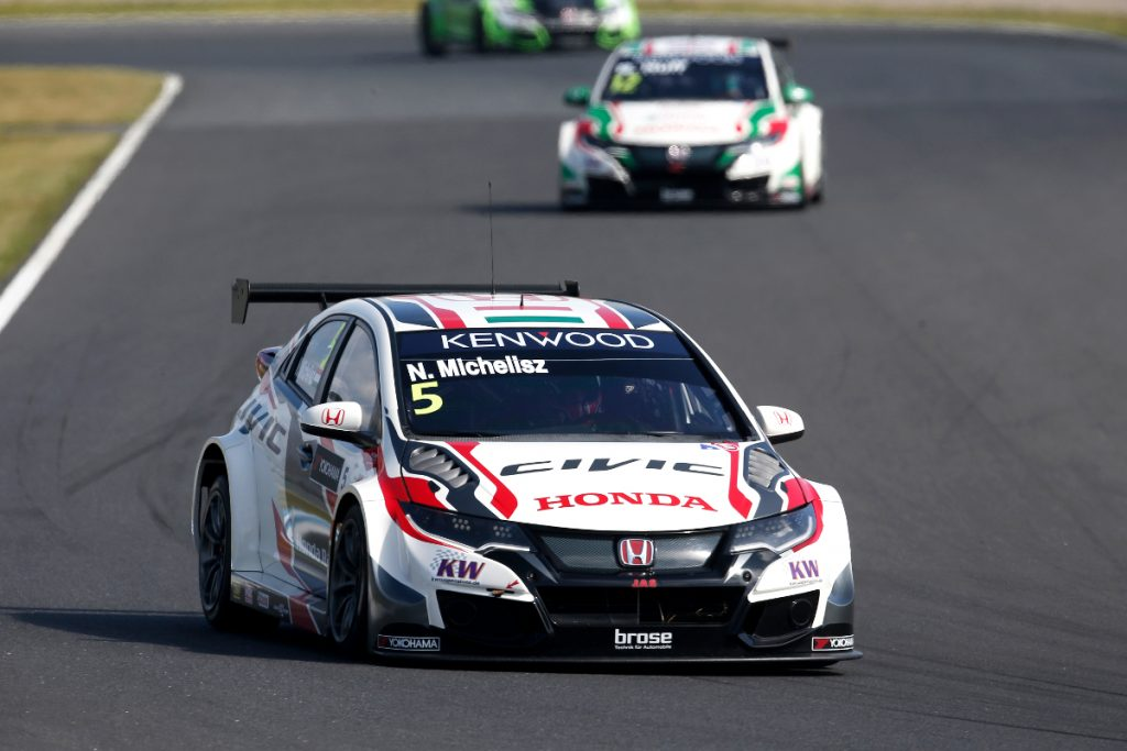 05 MICHELISZ Norbert (hun) Honda Civic team Honda racing Jas action during the 2016 FIA WTCC World Touring Car Championship race at Motegi from September 2 to 4 Japan - Photo Jean Michel Le Meur / DPPI