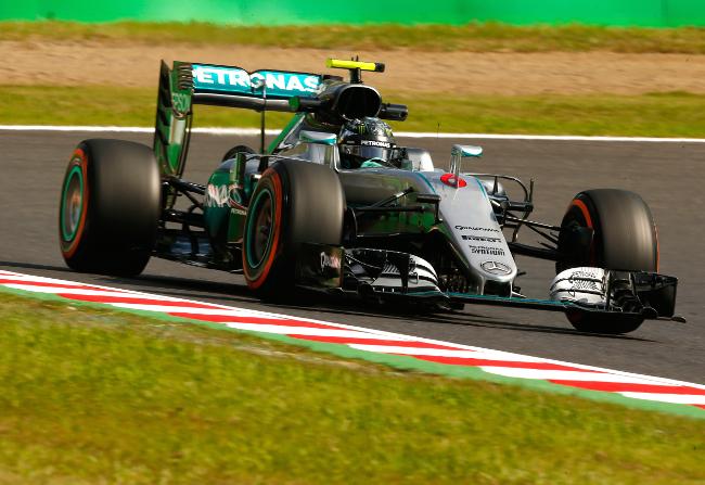 Formel 1 - MERCEDES AMG PETRONAS, Großer Preis von Japan 2016. Nico Rosberg ; Formula One - MERCEDES AMG PETRONAS, Japanese GP 2016. Nico Rosberg;