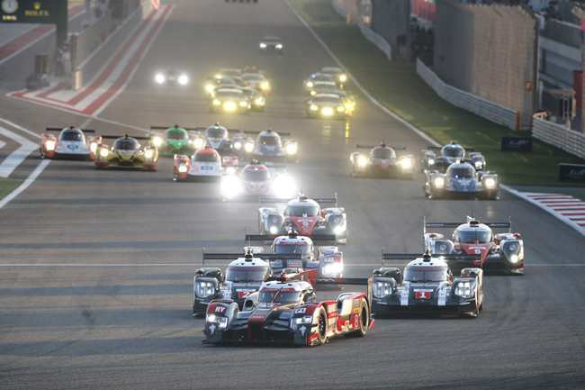 START during the 2016 FIA WEC World Endurance Championship, 6 Hours of Bahrain from November 17 to 19 at International Circuit of Sakhir - Photo Francois Flamand / DPPI