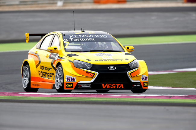 02 TARQUINI Gabriele (ita) Lada Vesta team Lada Sport Rosneft action during the 2016 FIA WTCC World Touring Car Championship race at Losail  from November 23 to 25 Qatar - Photo Clement Marin / DPPI
